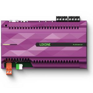 Draufsicht von Loxone Audioserver